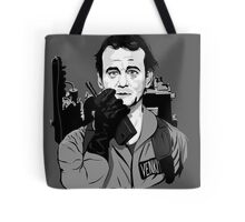 Ghostbusters Peter Venkman Bill Murray illustration Tote Bag