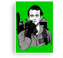 Ghostbusters Peter Venkman illustration Canvas Print