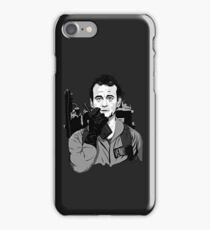 Ghostbusters Peter Venkman illustration iPhone Case/Skin