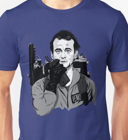 Ghostbusters Peter Venkman illustration T-Shirt