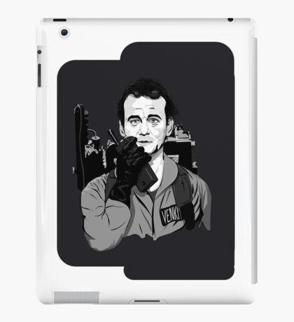 Ghostbusters Peter Venkman Bill Murray illustration iPad Case/Skin
