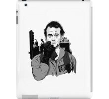 Ghostbusters Peter Venkman Bill Murray illustration iPad Case/Skin