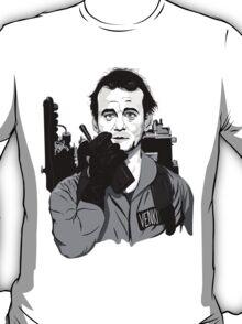 Ghostbusters Peter Venkman Bill Murray illustration T-Shirt