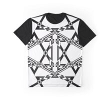 Geometry Gate • Rhombus Black Graphic T-Shirt