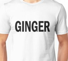GINGER. Unisex T-Shirt