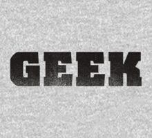 GEEK - Black One Piece - Long Sleeve