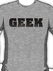 GEEK - Black T-Shirt