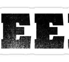 GEEK - Black Sticker