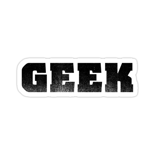 GEEK - Black by RetroLogos