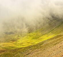 Cwm Clogwyn Mists by phil hemsley