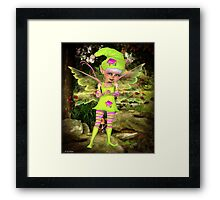 Saying Hi Framed Print