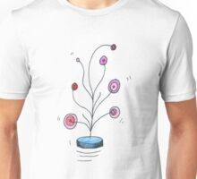 Floaty Space Flowers Tee Unisex T-Shirt