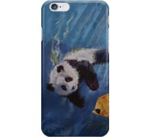 Panda Diver iPhone Case/Skin