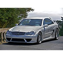 2007 Mercedes CLK 63 AMG Photographic Print