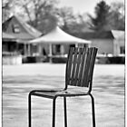 The chair and the sun by Jean-Claude Dahn
