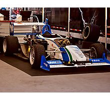 Indy Car 'In the Pits' Photographic Print