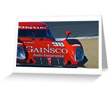 LeMans Prototype Race Car Greeting Card