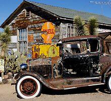 Vintage Ford Car by Tina Hailey