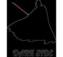 dark side Vader silhouette Photographic Print
