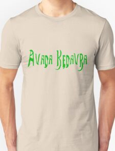 Harry Potter Spell Avada Kedavra T-Shirt