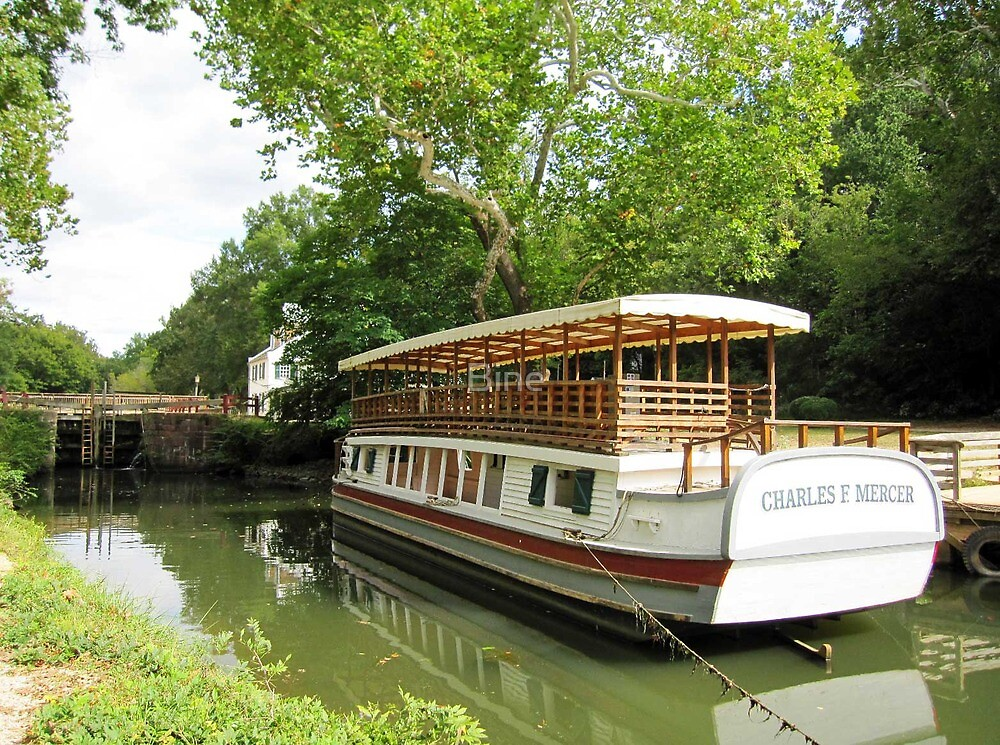 The Canal Packet Boat, Charles F. Mercer by Bine