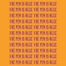 The Blue Pen by Alex Dermer