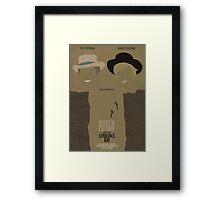 Butch Cassidy and the Sundance Kid Framed Print