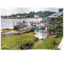 Bush Island III Poster