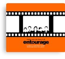 Entourage Canvas Print