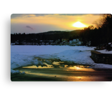 Sunny Reflections Canvas Print