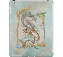 Fantasy Fish Art Nouveau iPad Case/Skin