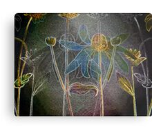 Abstraction over a Flower #4 Metal Print