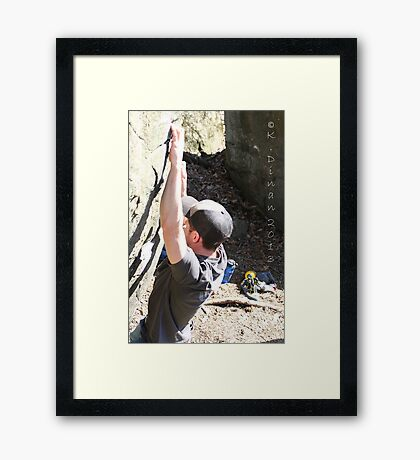 5912 Doug Framed Print