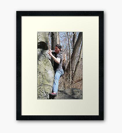 5943 Doug Framed Print