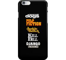 Quentin Tarantino Title Cards iPhone Case/Skin