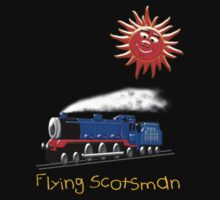 Flying Scotsman for Kids T-shirt Baby Tee