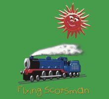 Flying Scotsman for Kids T-shirt Kids Tee