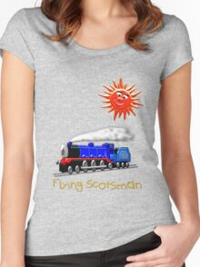 Flying Scotsman for Kids T-shirt Women's Fitted Scoop T-Shirt