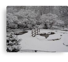 Sleeping Ponds Canvas Print