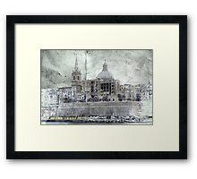 Malta 15 Framed Print