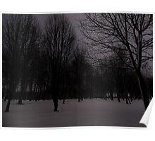 Winter Woodland Poster