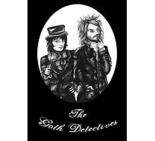 Goth Detectives Photographic Print