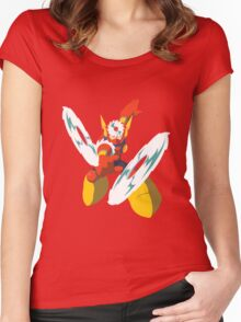 Metal Man Women's Fitted Scoop T-Shirt