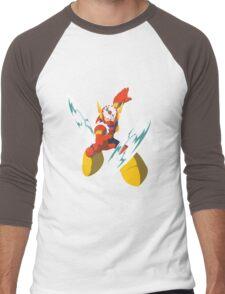 Metal Man Men's Baseball ¾ T-Shirt