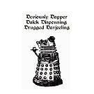 Dastardly Dalek iPhone Case by gothscifigirl