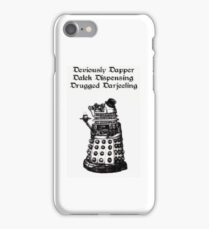Dastardly Dalek iPhone Case iPhone Case/Skin