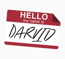 My Name Is Darvid (No Mistake) One Piece - Short Sleeve