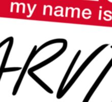 My Name Is Darvid (No Mistake) Sticker