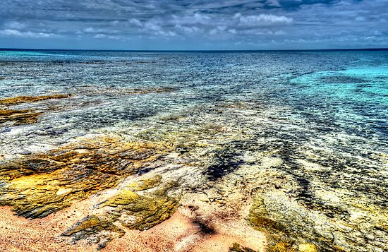 Looking East from Nassau, The Bahamas by 242Digital