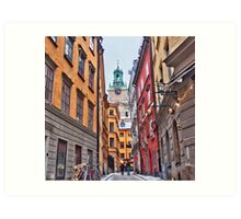 Lost in Gamla Stan Art Print